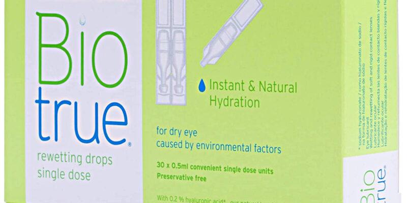 Compra Gotas rehidratantes Bacuh & Lomb monodosis en la tienda online de gafas de sol Lunic Opticas Vigo