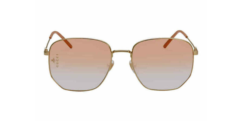 Comprar gafas de sol GUCCI Orange Gradient Hexagonal GG0396S 003 en la tienda online de gafas de sol Lunic Opticas Vigo