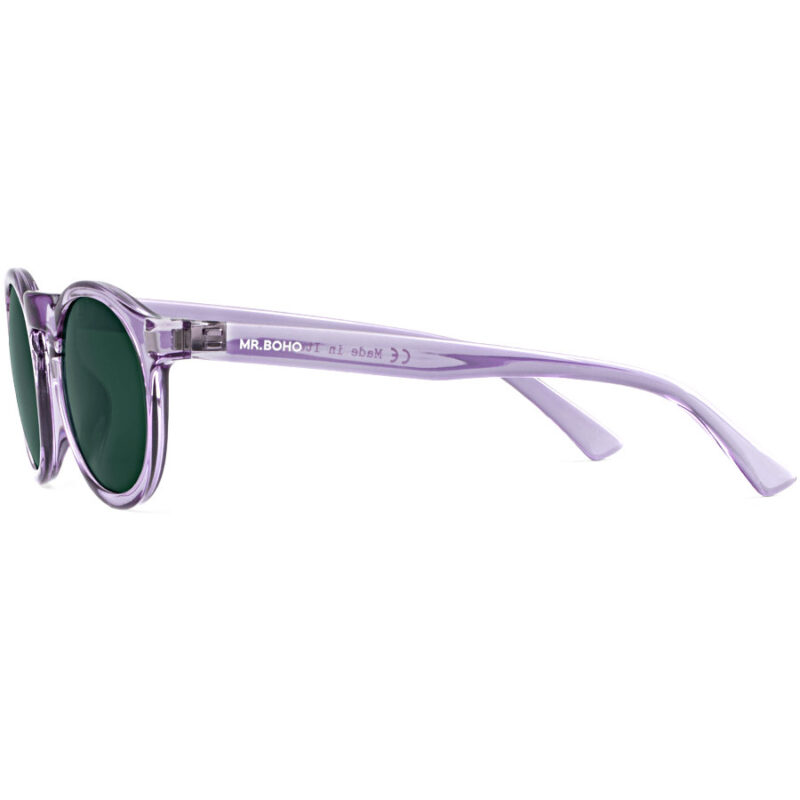 MR.BOHO Joordan Techni Lilac with Classical Lenses