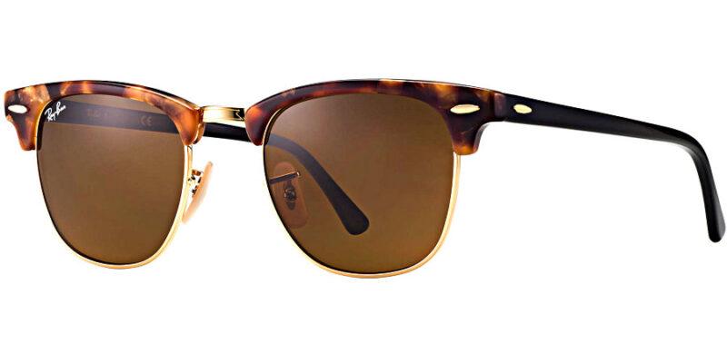 Compra gafas de sol RAYBAN Clubmaster Fleck Habana Colection en la tienda online de gafas de sol Lunic Opticas Vigo