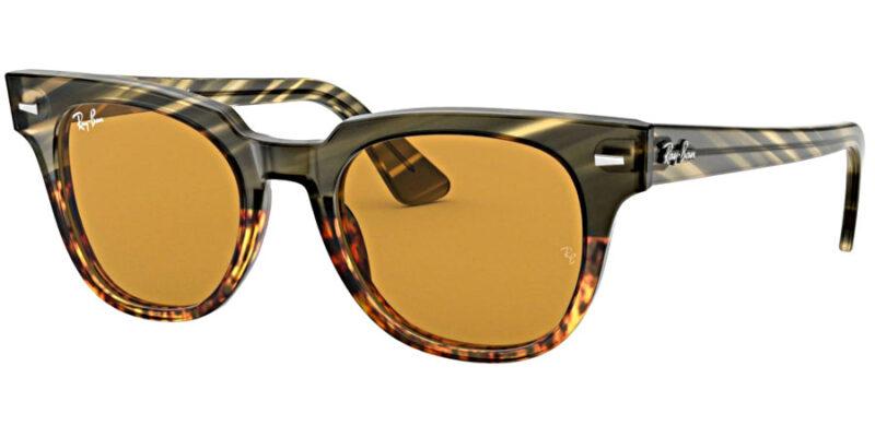 Compra gafas de sol RAYBAN Meteor Striped Havana en la tienda online de gafas de sol Lunic Opticas Vigo