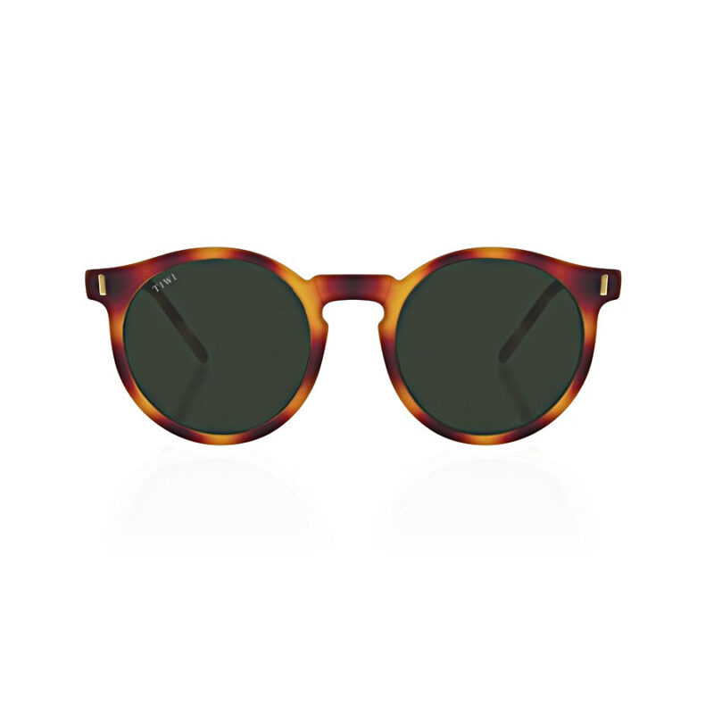TIWI Antibes Rubber Havana with Green Lenses (antirreflejos)