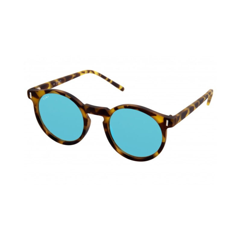 TIWI Antibes Rubber Green Tortoise with Blue Lenses (antirreflejos)