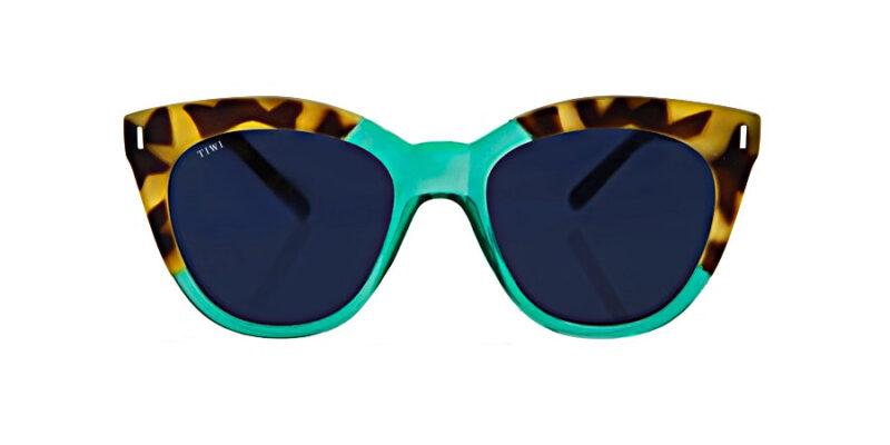 Comprar gafas de sol TIWI Lune Bicolour Tortoise Green en la tienda online de gafas de sol Lunic Opticas Vigo