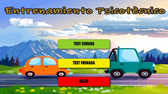 Aplicación Android para test pricotécnicos