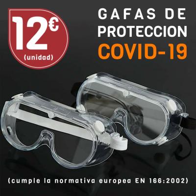 Compra Gafas de protección COVID 19 en la tienda online de gafas Opticas Lunic Vigo