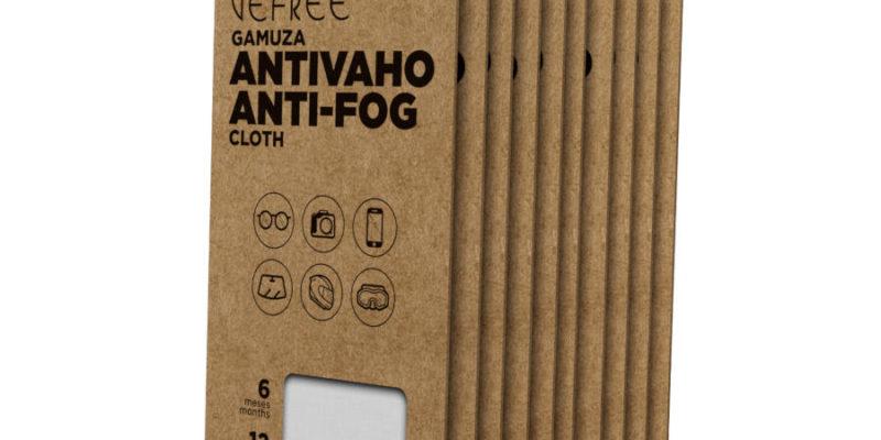 Bamuzas toallitas antivaho para gafas