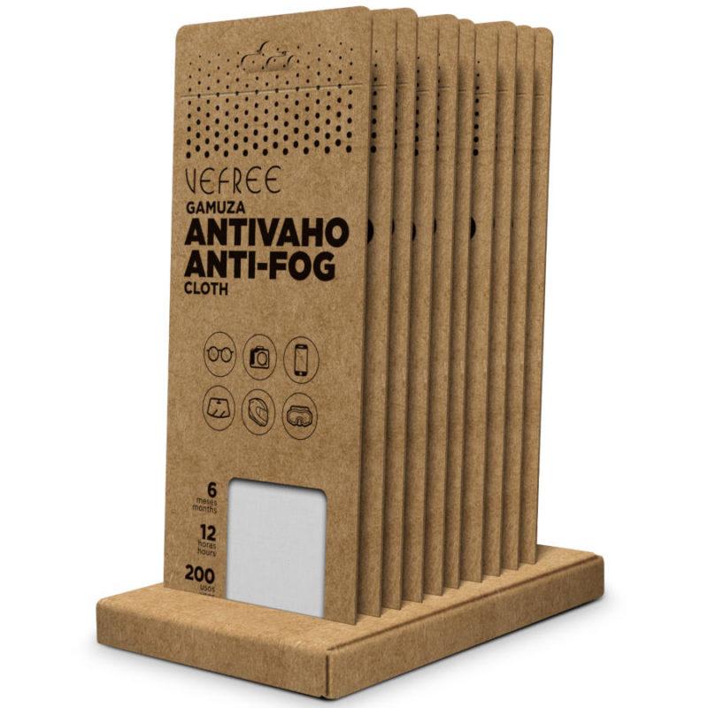 VEFREE Gamuza antivaho 15x18cm 200 usos 12 horas