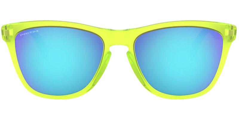 Gafas de sol para hombre OAKLEY Frogskins Mix OO9428 1155 frontal abierto