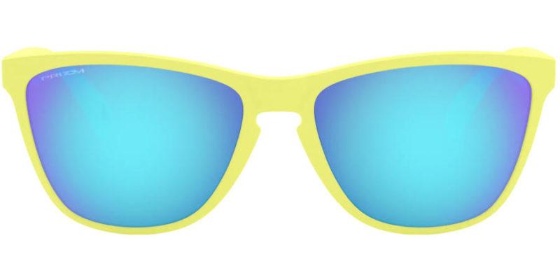 Gafas de sol para hombre OAKLEY Frogskins OO9444 03 35th Anniversary frontal abierto