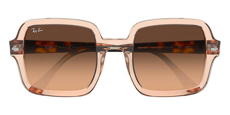 Gafas de sol para mujer RAY-BAN Square Classic RB2188 130143 frontal