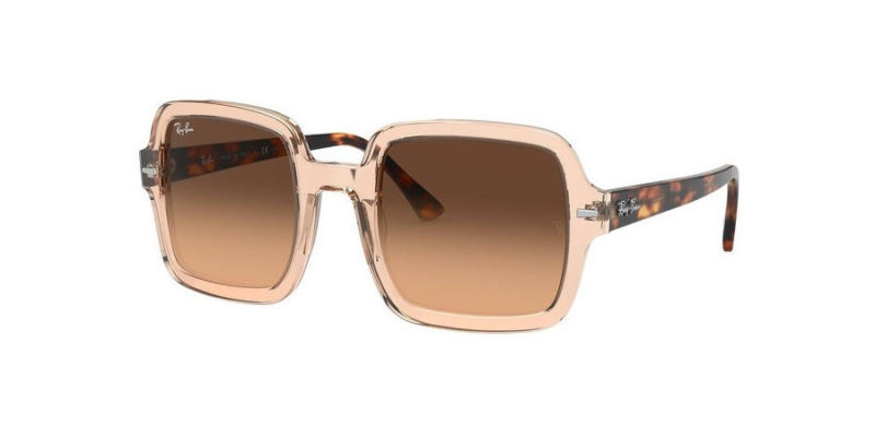 Gafas de sol para mujer RAY-BAN Square Classic RB2188 130143 lateral