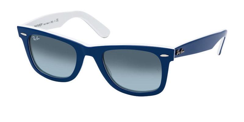 Gafas de sol de hombre y mujer RAY-BAN Wayfarer RB2140 1299-3M izquierda