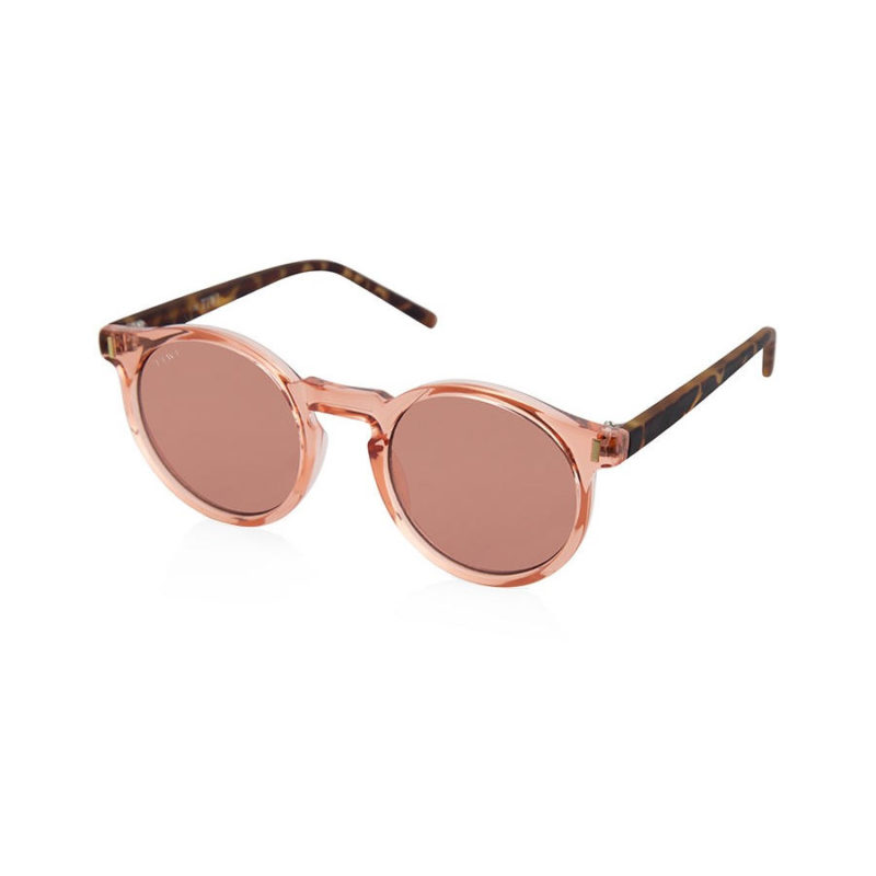 TIWI Antibes Shiny Pink with Pink Lenses