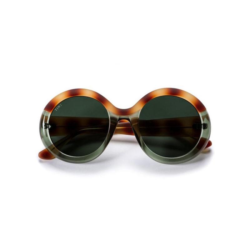 TIWI Lissa Bicolour Green Havana with Green lenses