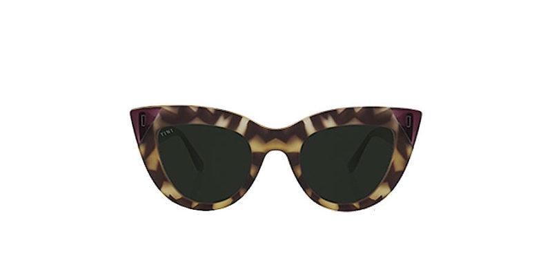 Gafas de sol mujer TIWI Yunon greeen Tortoise Shiny Lavander