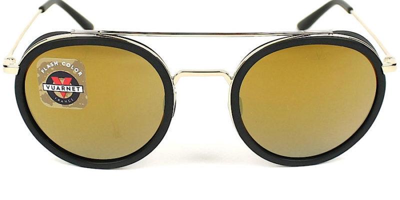 Gafas de sol para hombre VUARNET Edge Ronde VL1613 0001 50 1 frontal
